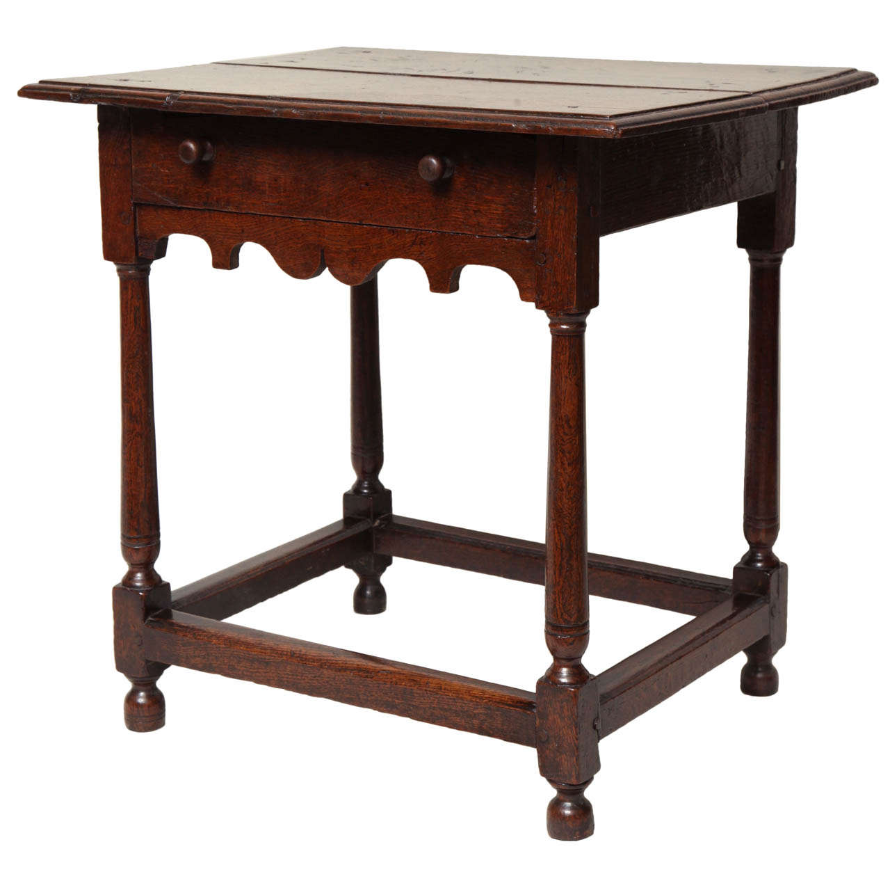 Early 18th Century English Oak Table