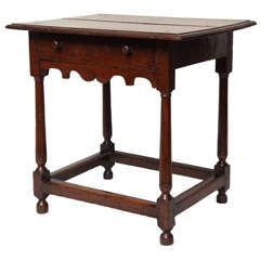 Early 18th Century English Oak Table