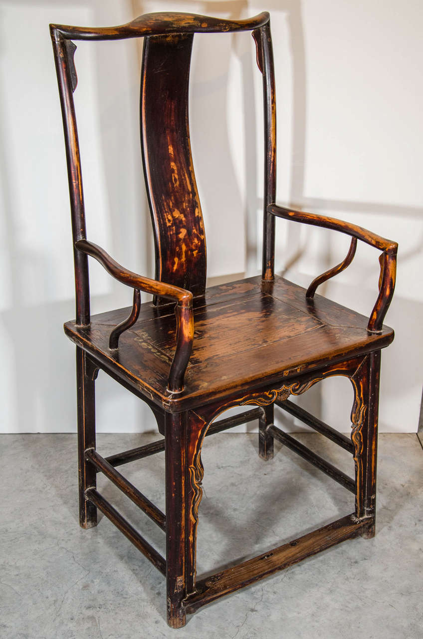 Chinese Official's Armchair For Sale 1