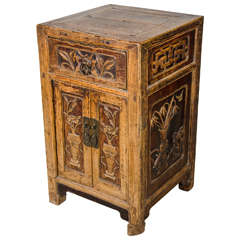 Unusual, Finely Carved 19th Century Cabinet