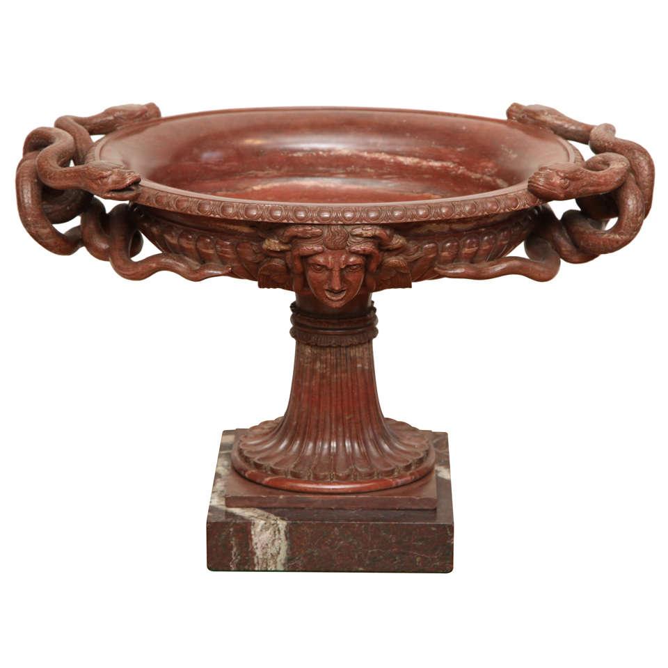 19th Century Marble Tazza