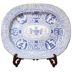 Large 19th Century Spode Platter