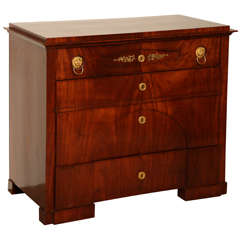 19th Century Biedermeier Chest, Butlers Desk