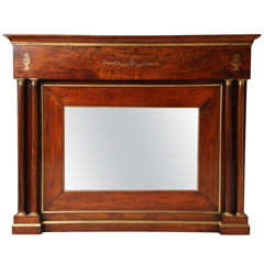 19th Century Continental Overmantel