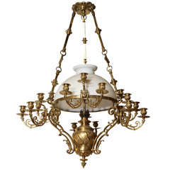 English Mid 19th Century Chandelier