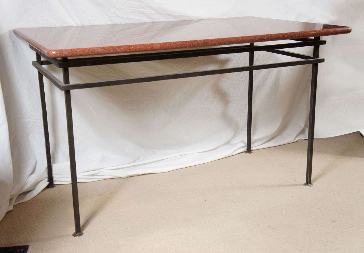 granite dining table at 1stdibs