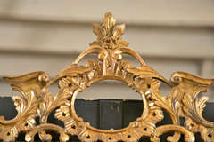 Italian Gilt Carved Wall Mirror image 2