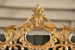 Italian Gilt Carved Wall Mirror image 2