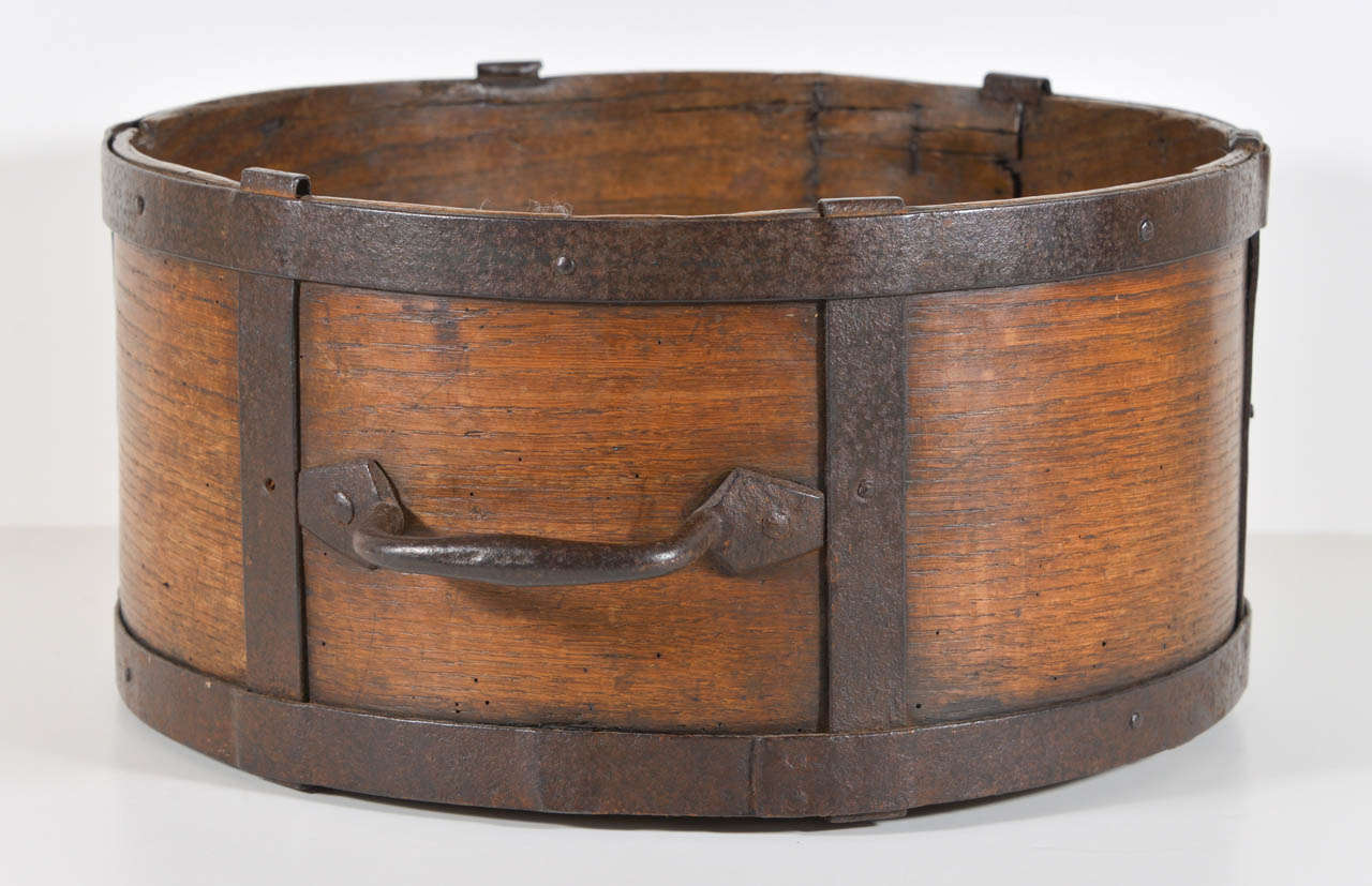 19th C. French Grain Measure In Excellent Condition In Houston, TX