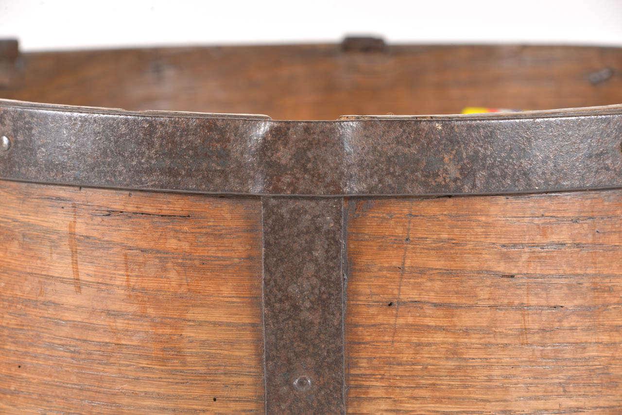 Oak 19th C. French Grain Measure