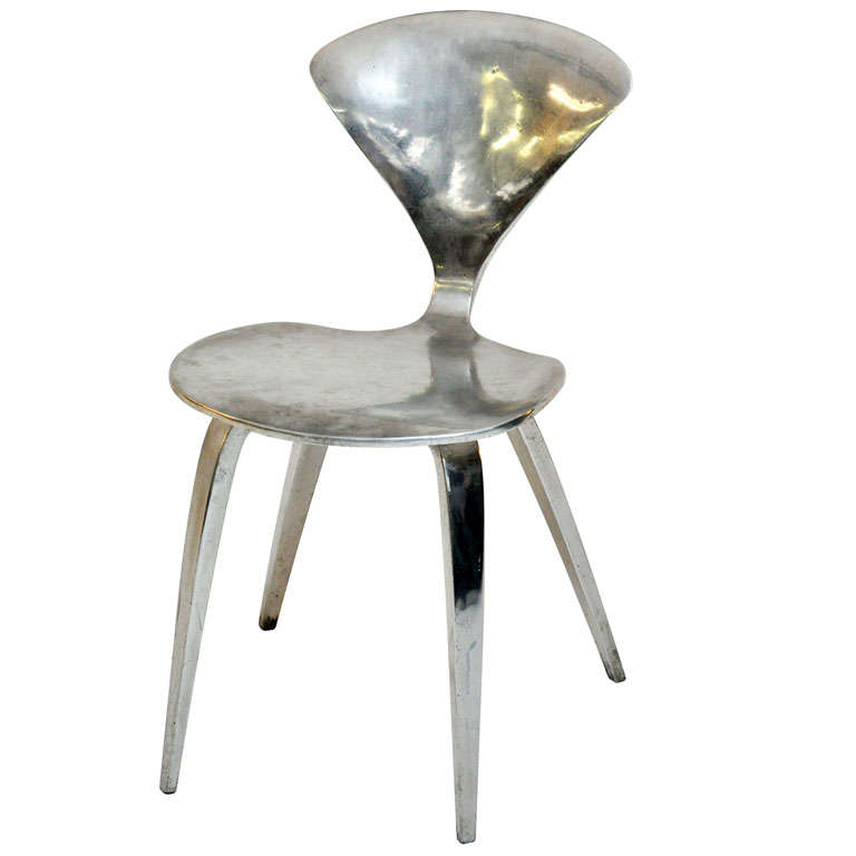 Polished Aluminum Cherner Chair For Sale