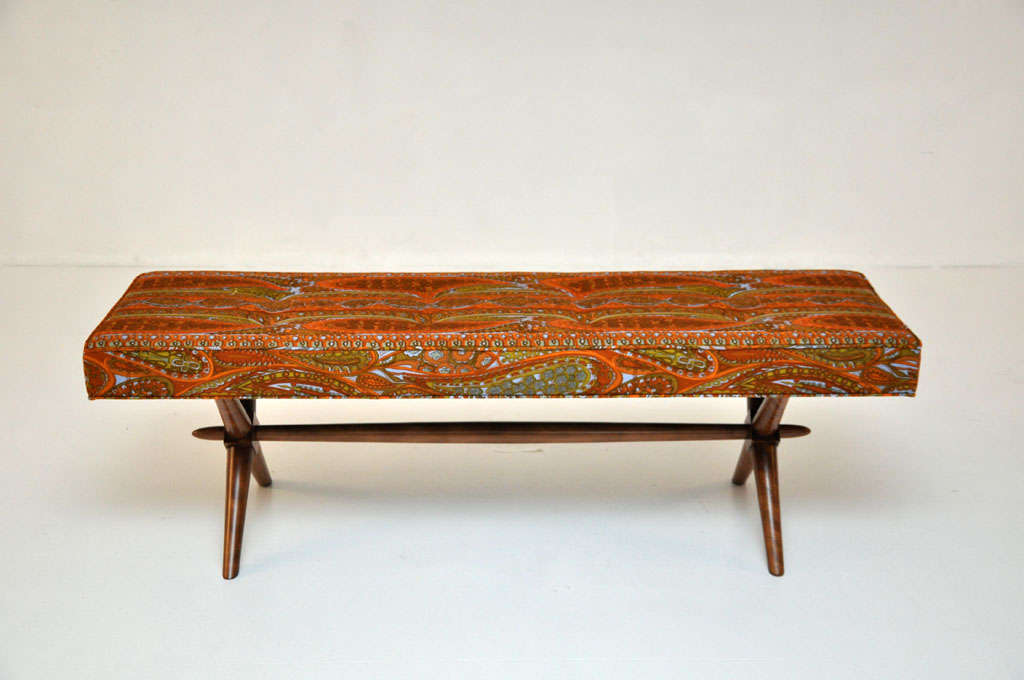 American T.H. Robsjohn-Gibbings bench For Sale