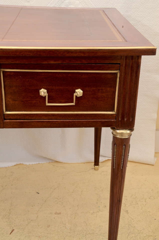 french directoire style bureau plat at 1stdibs. Black Bedroom Furniture Sets. Home Design Ideas