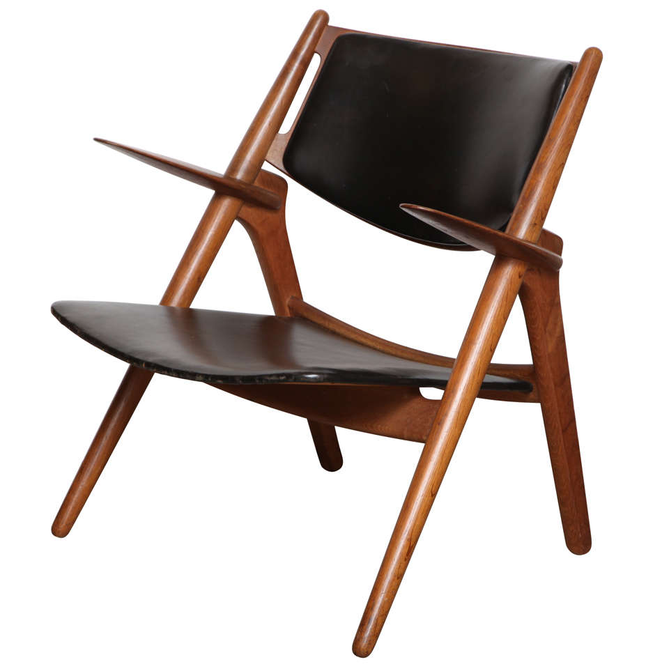 hans wegner sawbuck chair 1
