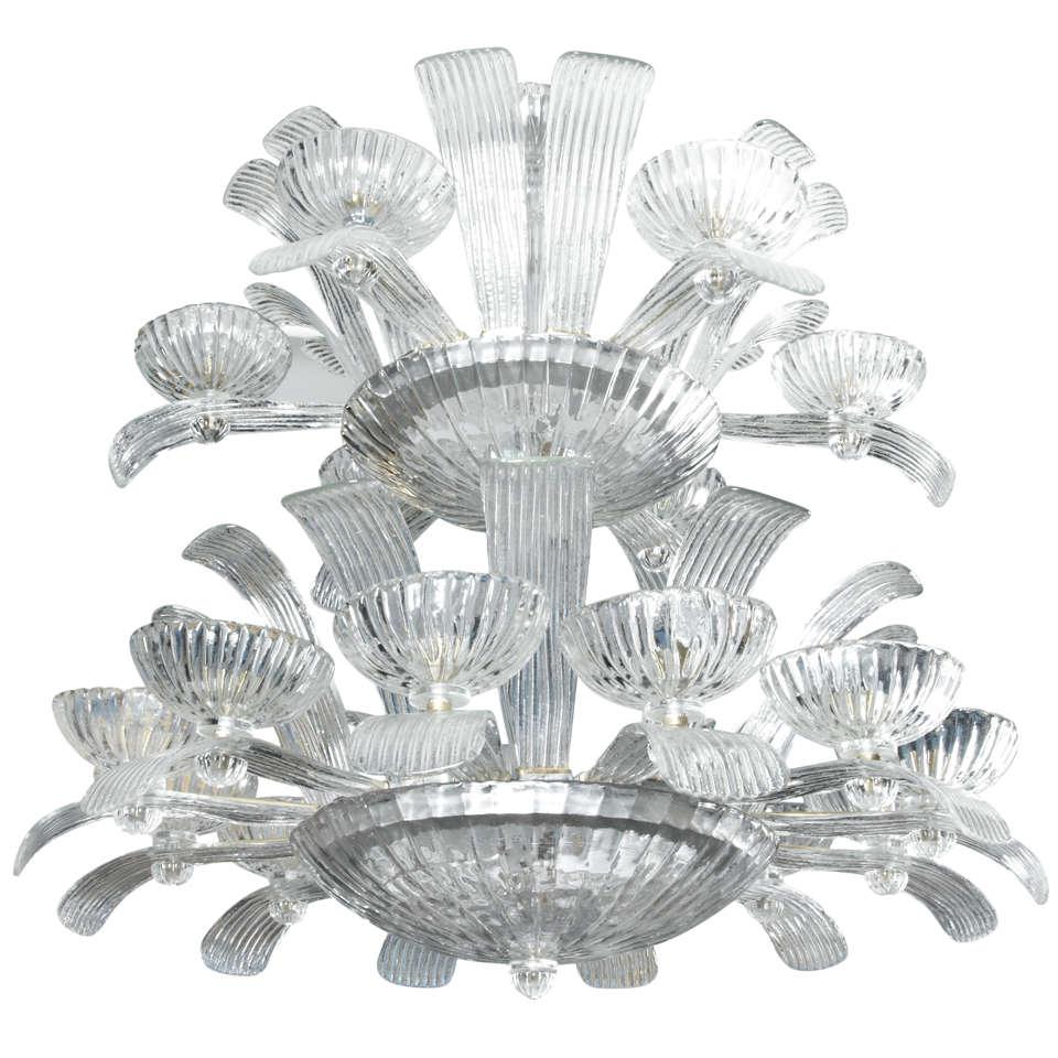Gorgeous Murano Glass Chandelier