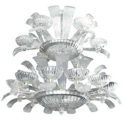 Gorgeous Murano Glass Chandelier