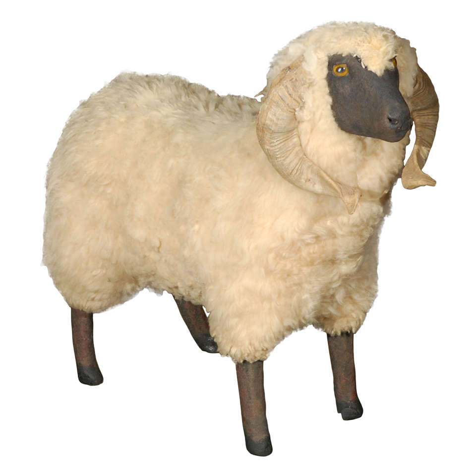 Decorative Life Size Sheep After Francois Xavier Lalanne