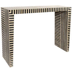 Indian Striped Bone Console