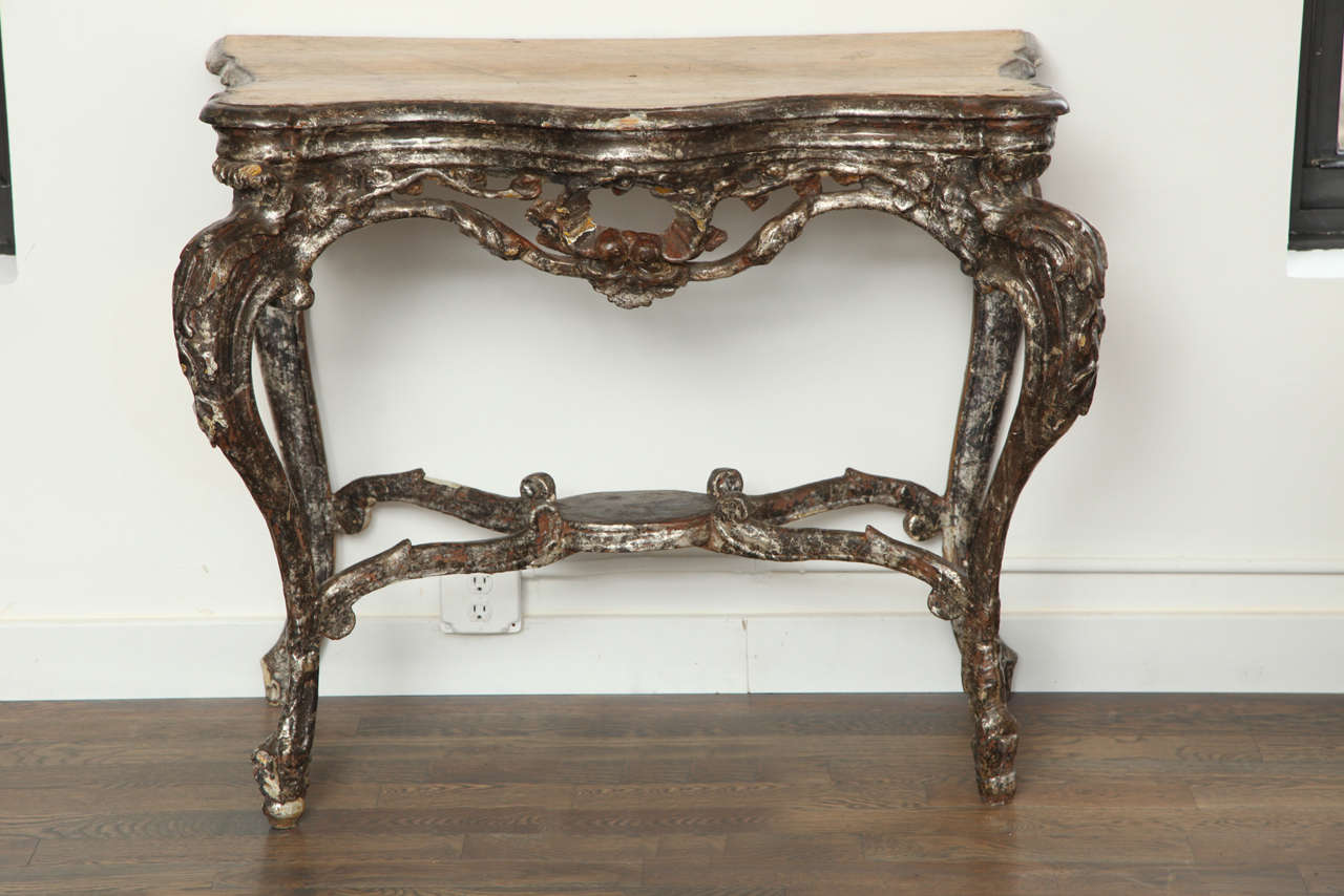 italian baroque console at 1stdibs. Black Bedroom Furniture Sets. Home Design Ideas