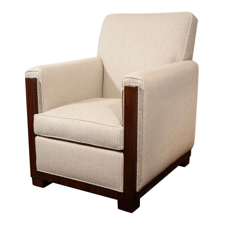 Art Deco Modernist Club Chair For Sale At 1stdibs