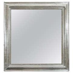 Square Silvered Mirror