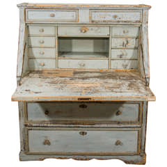 19th Century Painted French Desk
