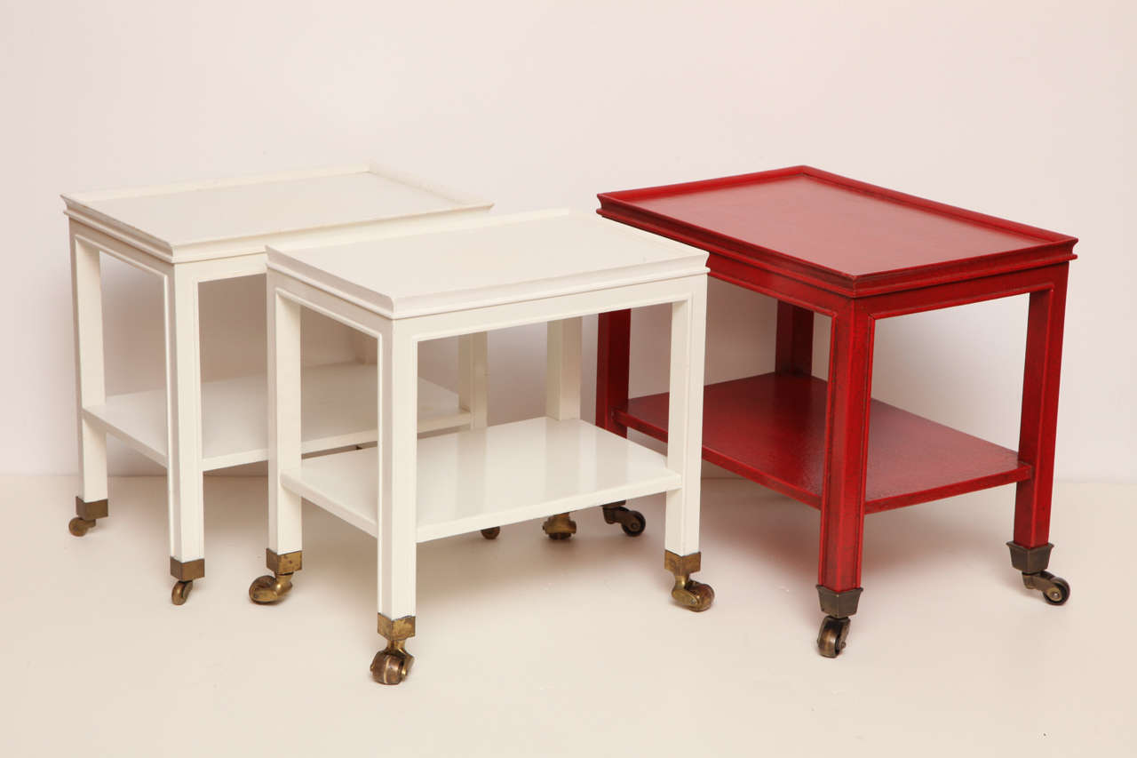 Three Telephone Tables by Jansen from the Collection of Brooke Astor 2