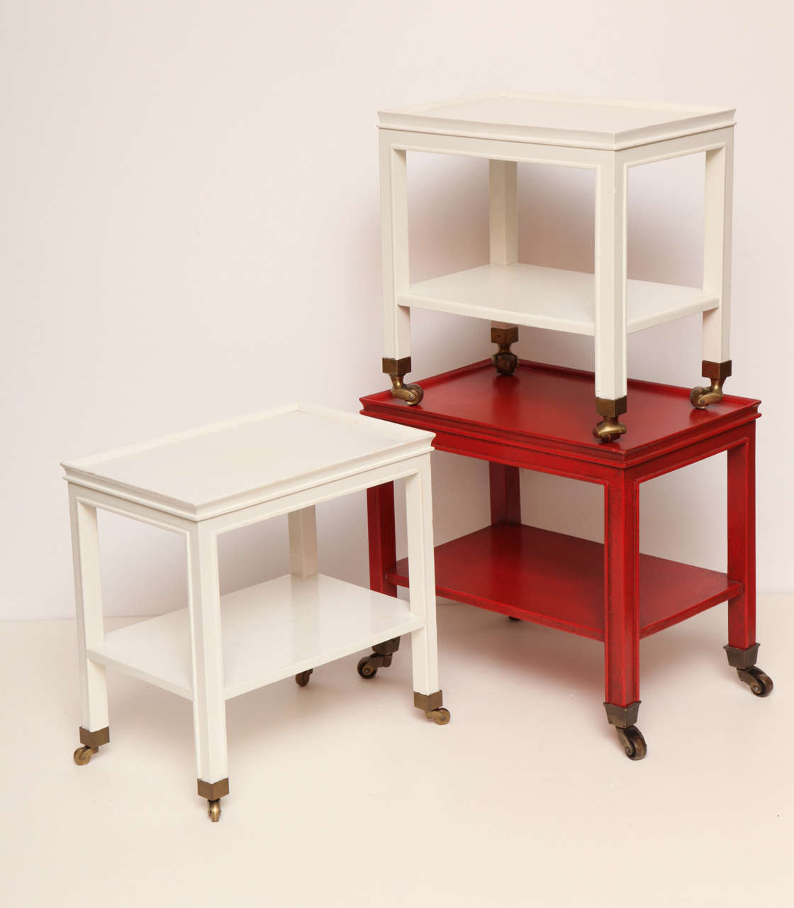 Three Telephone Tables by Jansen from the Collection of Brooke Astor 3