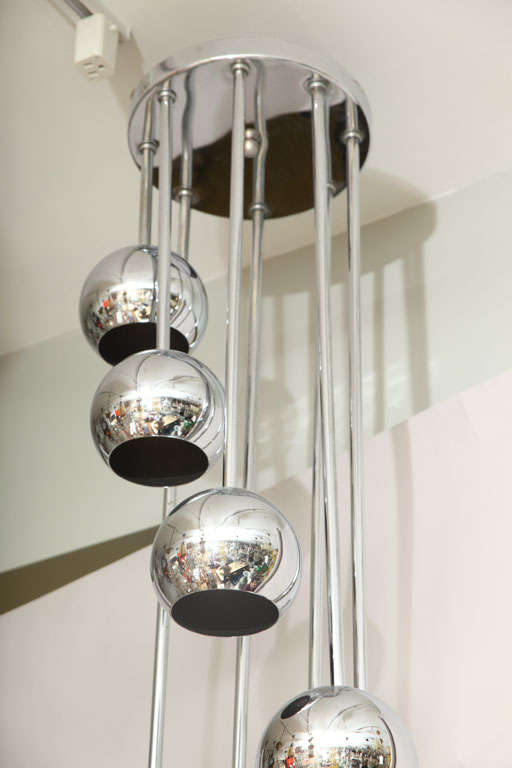 An 8 Light American Ceiling Fixture image 5