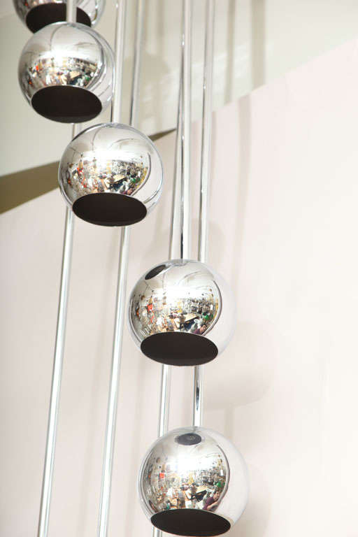 An 8 Light American Ceiling Fixture image 6