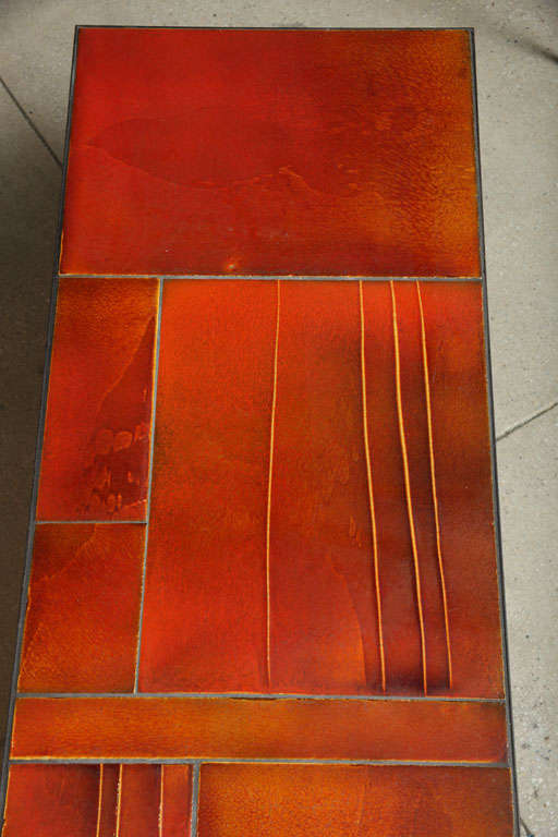 Coffee Table by Roger Capron For Sale 1