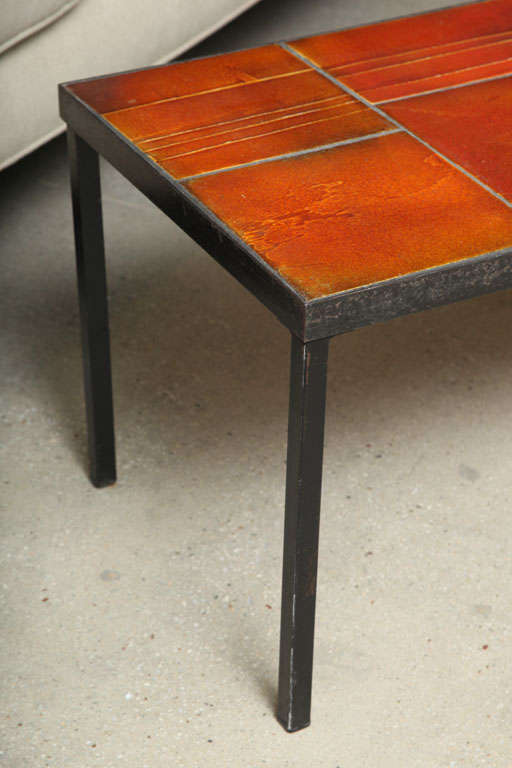 Coffee Table by Roger Capron For Sale 4