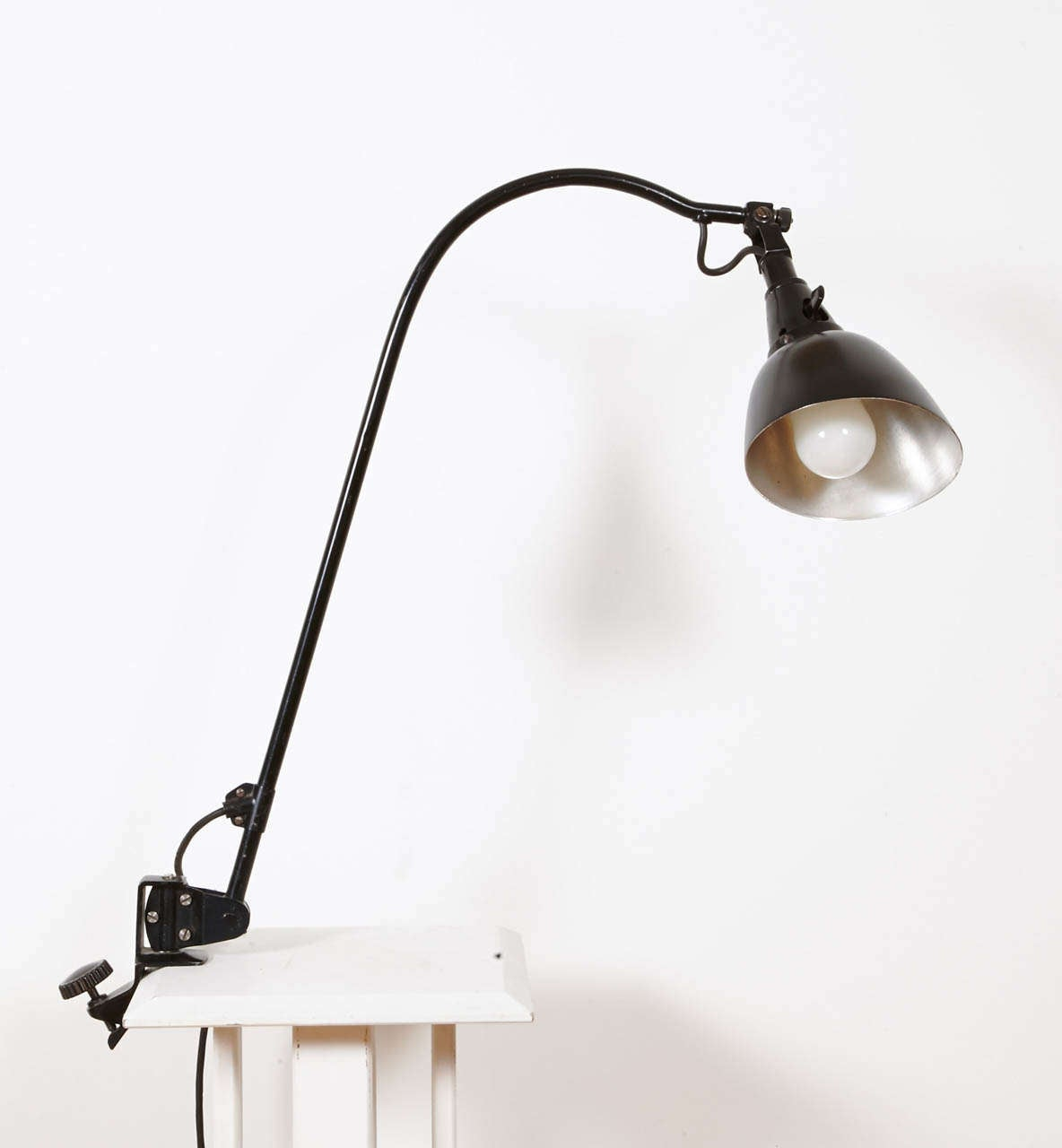 German Bauhaus Midgard Task Light by Curt Fischer, circa 1923-1925