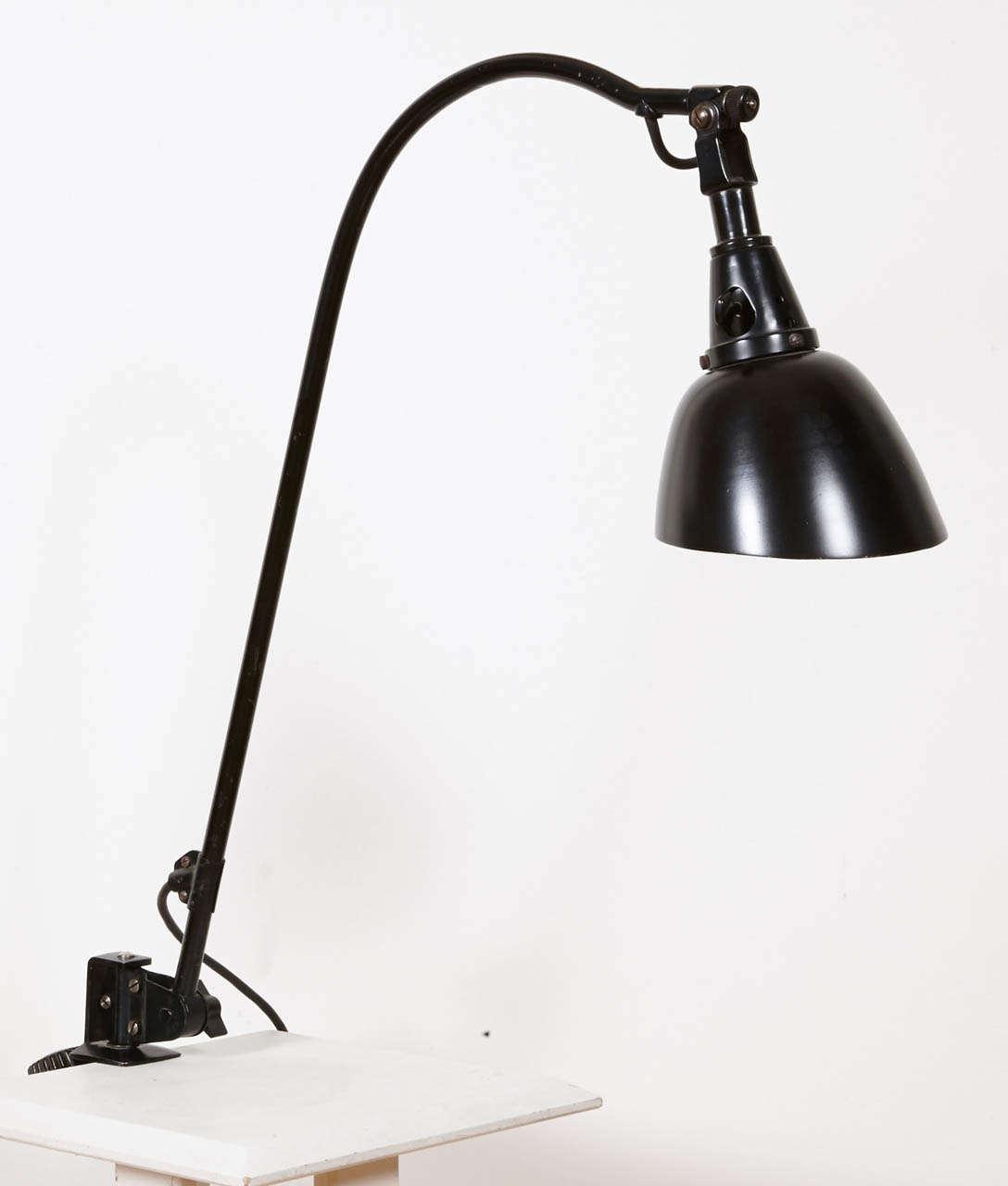 Bauhaus Midgard Task Light by Curt Fischer, circa 1923-1925 1