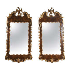 Pair of Early George III Mirrors