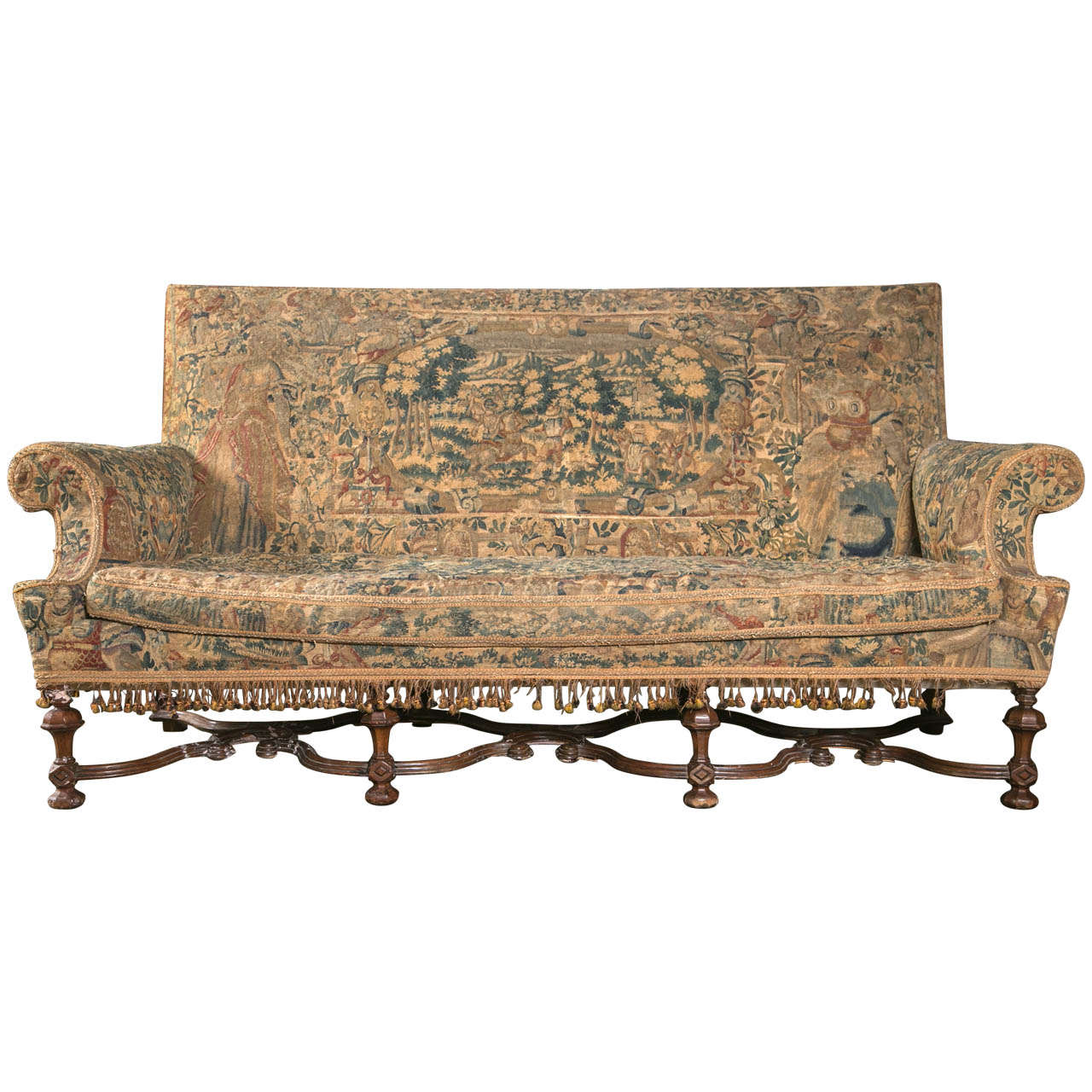 William U0026 Mary Style Settee 1