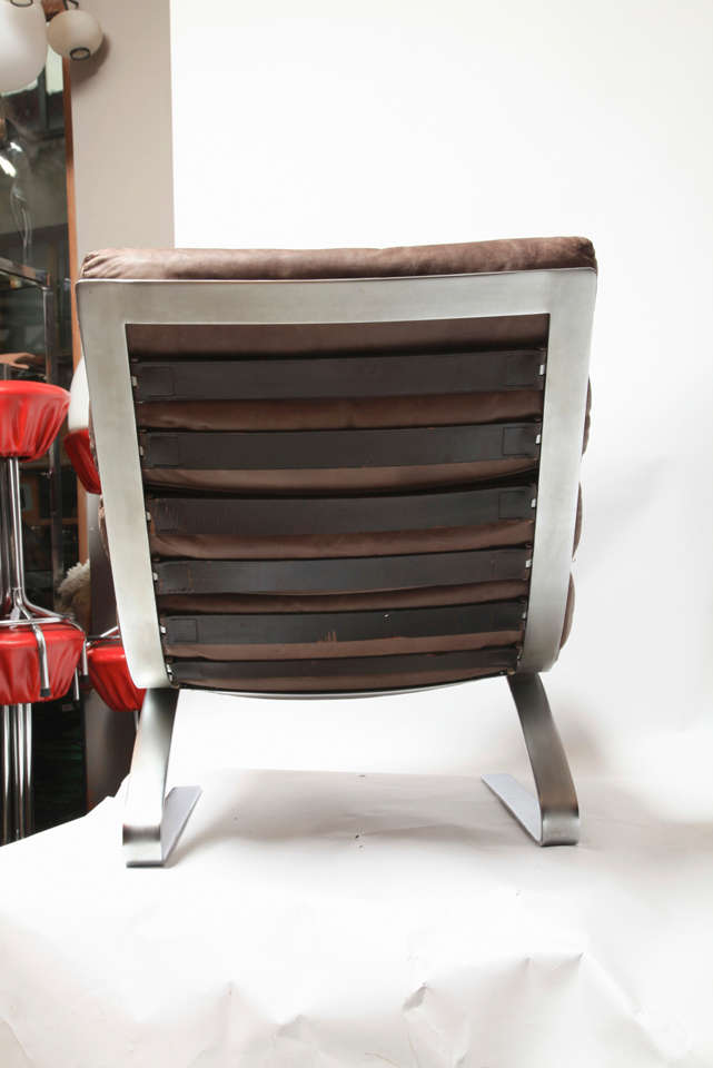 Sinus Lounge Chair 1976 with Ottoman Designed by COR 6