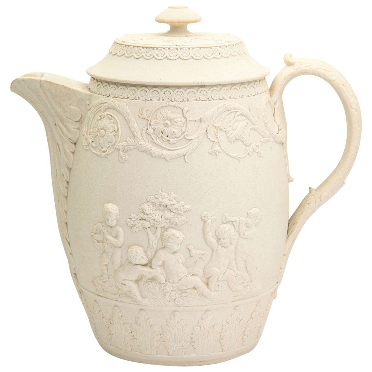 A Fine Signed Turner Stoneware Covered Pitcher At 1stdibs
