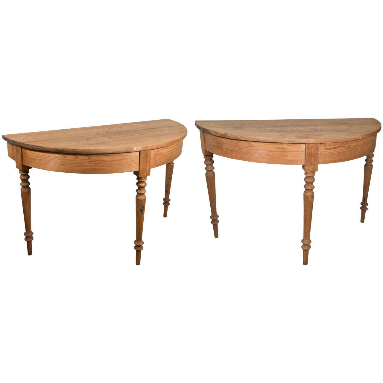 pair swedish demi lune tables at 1stdibs. Black Bedroom Furniture Sets. Home Design Ideas