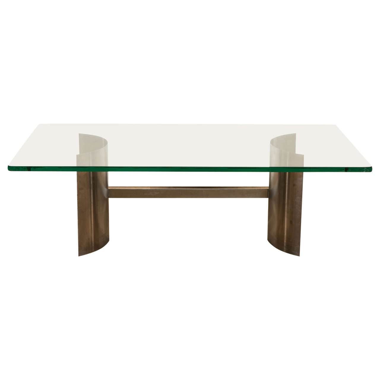 1970s Coffee Table Attributed to Francoise See For Sale