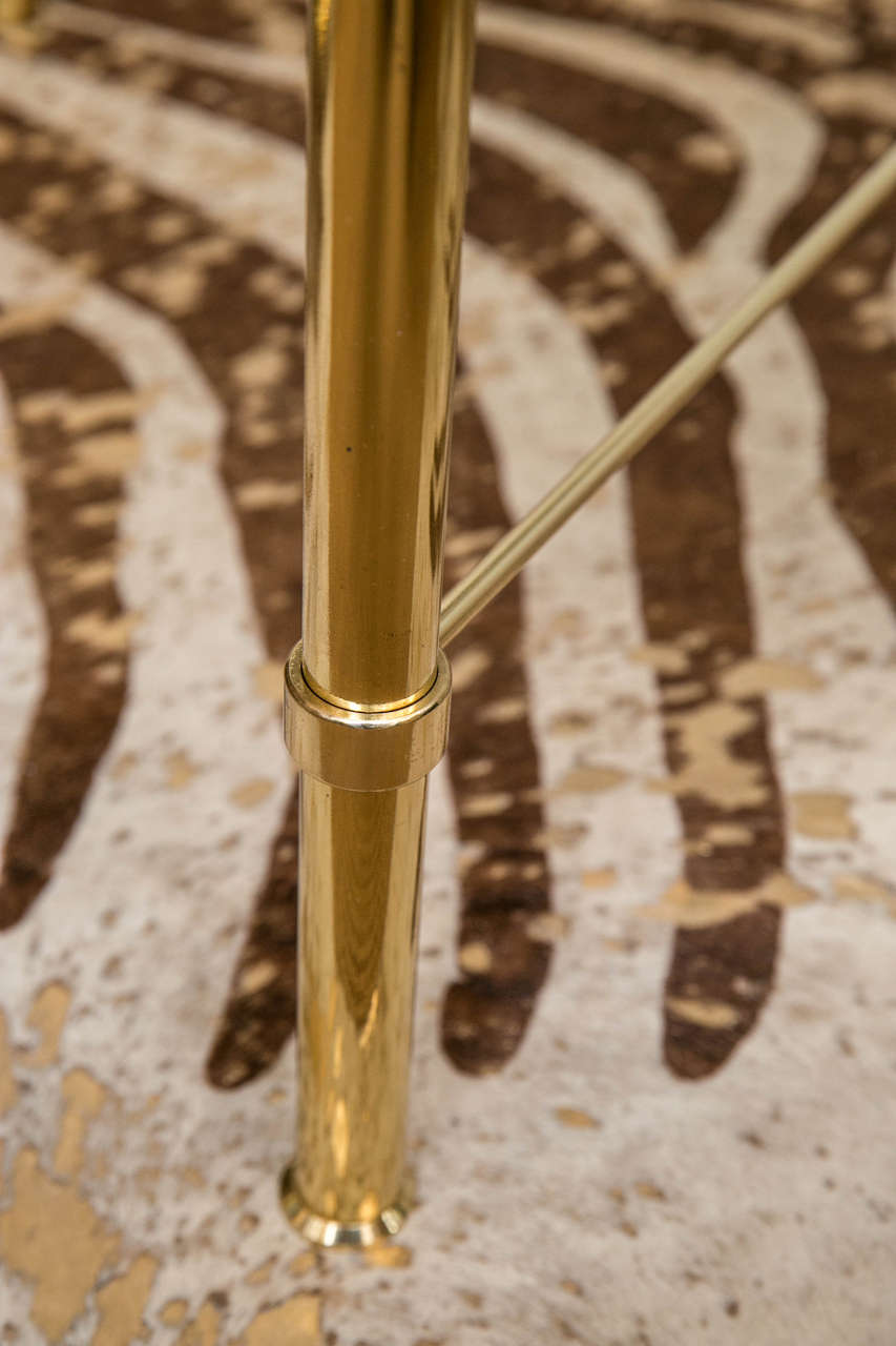 French Modernist Brass Cocktail Table 3