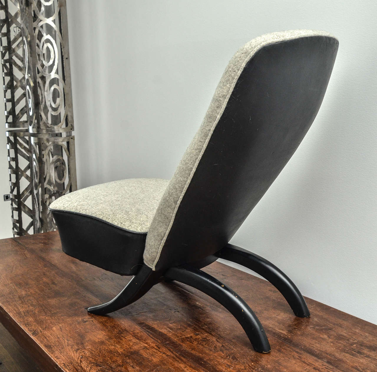 Dutch Pair of Theo Ruth Chairs For Sale