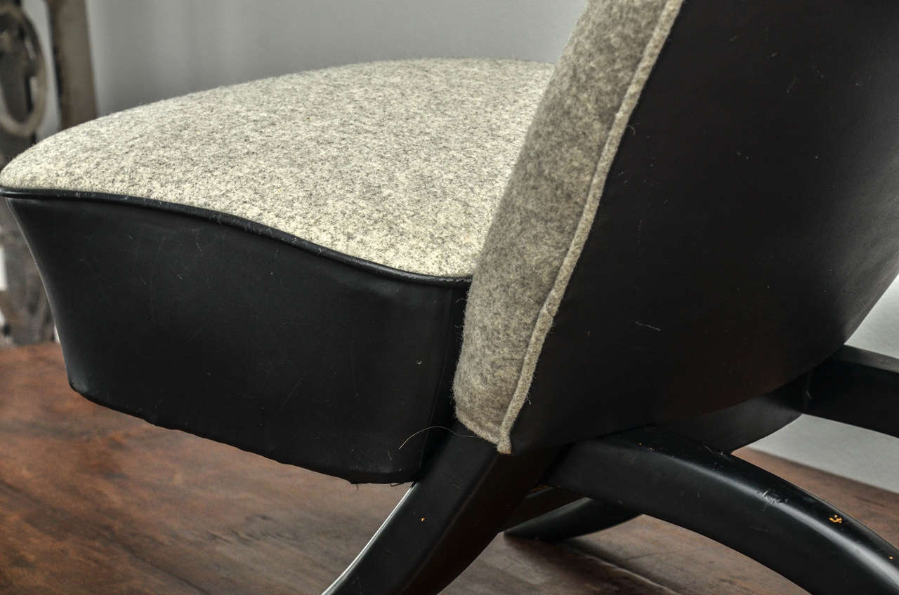 Mid-20th Century Pair of Theo Ruth Chairs For Sale