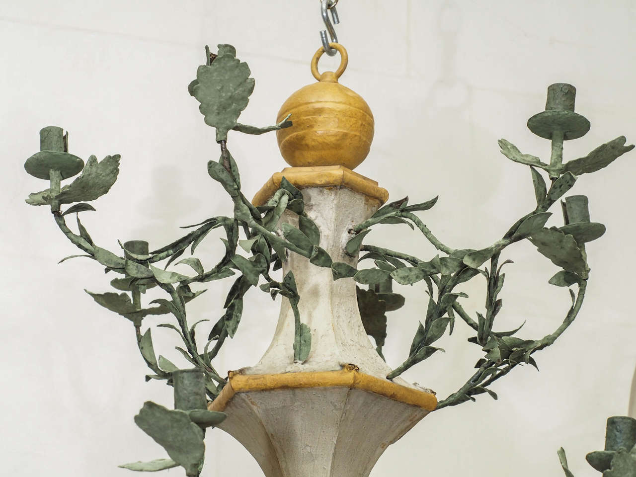 French Pair of Late 18th Century L'orangerie Chandeliers For Sale