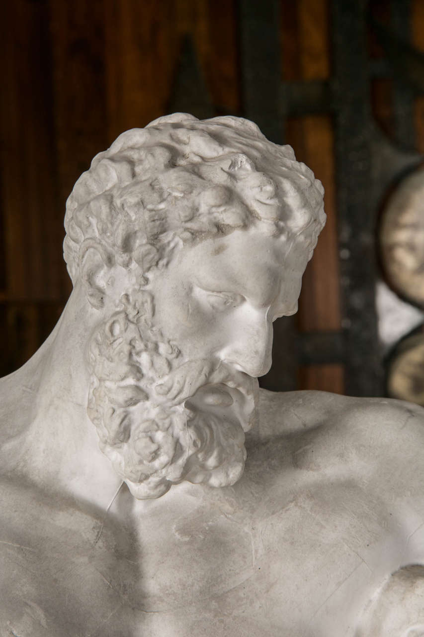 Plaster Reproduction Of The Farnese Hercules At 1stdibs