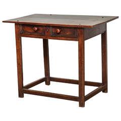 Welsh or English Oak Side Table