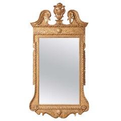 Impressive George II Giltwood Palladian Mirror