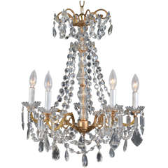 French Candle Fixture, electrified