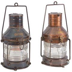 Hanging Oil Lamp Electrified At 1stdibs