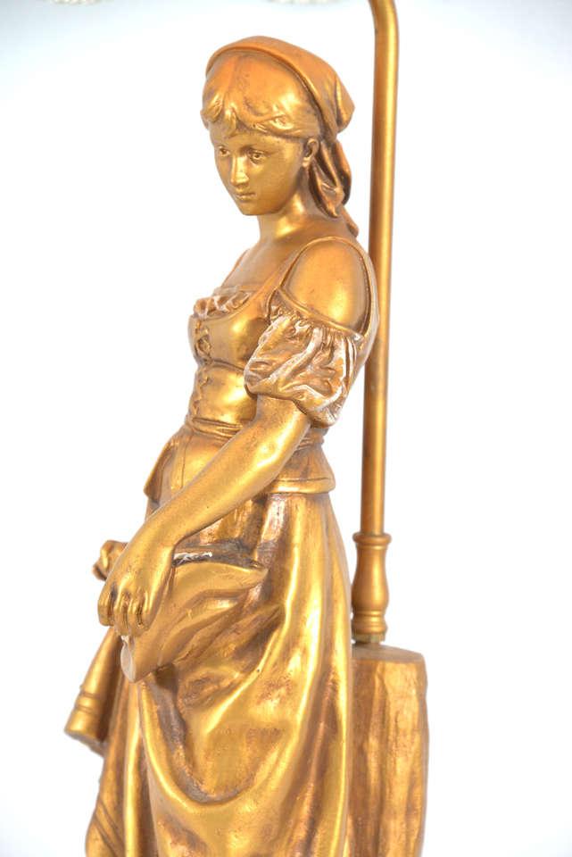La grace de dieu 1930 39 s french table lamp at 1stdibs for Piscine grace de dieu